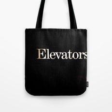 Elevators Tote Bag