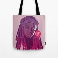 THE WALKING DEAD - Micho… Tote Bag