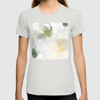 Madonna Lily #3 Womens Fitted Tee Silver SMALL