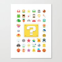 Power Ups! Canvas Print