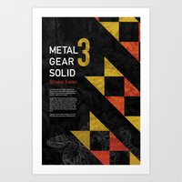 Metal Gear Solid 3: Snak… Art Print