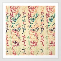 Another floral pattern Art Print