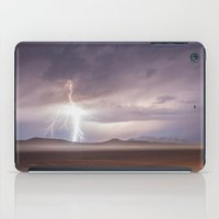 Lightning Strike, Black Rock Desert, NV iPad Case