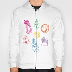 House Pattern Hoody