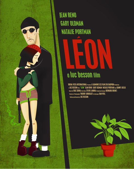 Leon and Mathilda Art Print