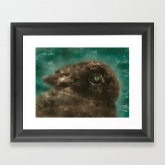 Some Bunny Loves You Framed Art Print