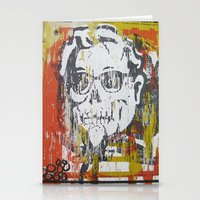 Skull Sanders Distress Stationery Cards