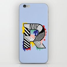 R for ... iPhone & iPod Skin