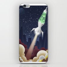 Way Out-ta Space!!!! iPhone & iPod Skin