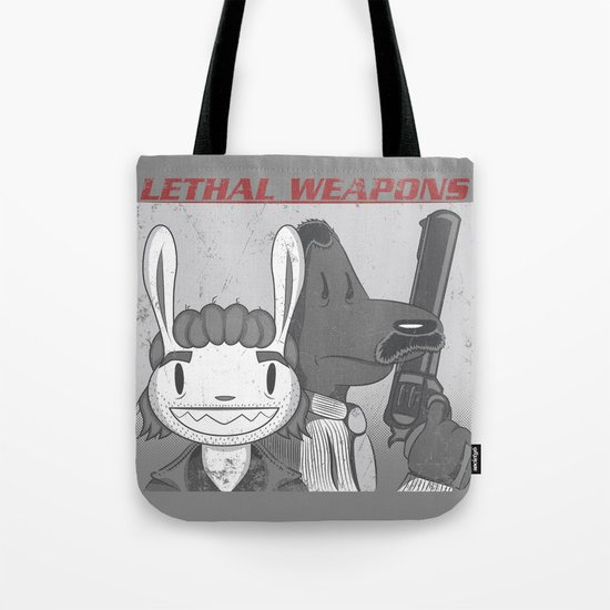 Lethal Weapons Tote Bag