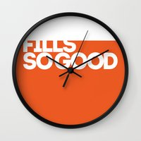 fills so good Wall Clock
