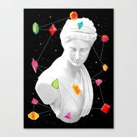 Geometric Gods II Canvas Print