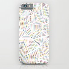 Abstraction Linear Rainbow Slim Case iPhone 6s