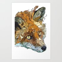 Her Complicated Nature II Art Print