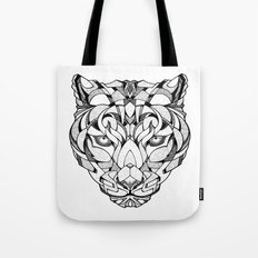 Leopard - Drawing Tote Bag