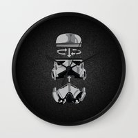 Construct-a-trooper. Wall Clock