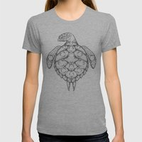 Where is it We Are Going? Womens Fitted Tee Athletic Grey SMALL