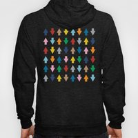 Arrows Up And Down Hoody