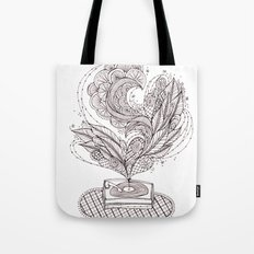 the music maker Tote Bag