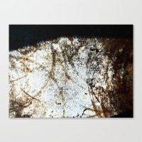 Rust Circles Canvas Print