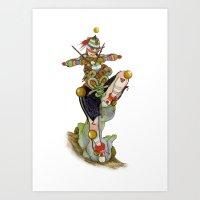 Uru Taquitzl, Ritual Dancer Art Print