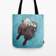 Otterly Romantic - Otter… Tote Bag