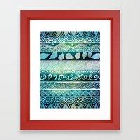 Dreamy Tribal Part VIII Framed Art Print