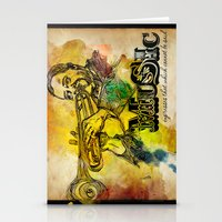 Music Epression Stationery Cards
