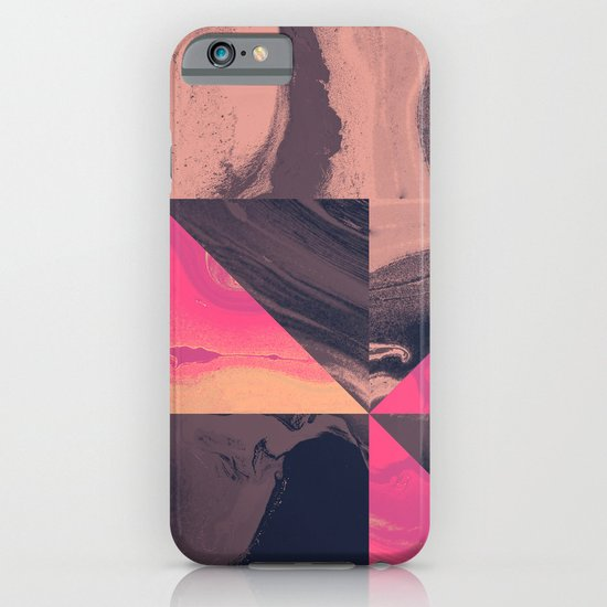Triangular Magma iPhone & iPod Case