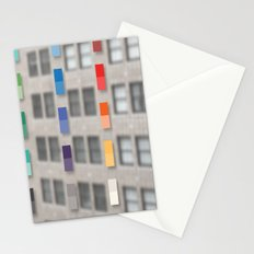 new america office one Stationery Cards