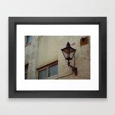 england's streets Framed Art Print