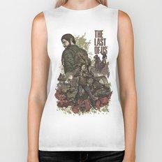 The Last of Us Artwork Biker Tank