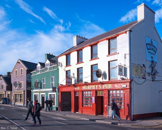On The Streets Of Sunny Dingle - Ireland Art Print