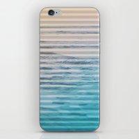 Sunrise Ocean Stripes iPhone & iPod Skin