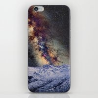 Sagitario, Scorpio and the star Antares over the hight mountains iPhone & iPod Skin
