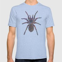 Tarantula Mens Fitted Tee Athletic Blue SMALL