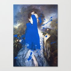 Blue Bomb Canvas Print