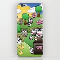 Down On Dingle Dopple Farm iPhone & iPod Skin