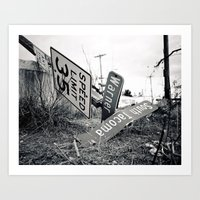 Art Print featuring We've arrived by Vorona Photography