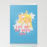 Let Me Be With You Stationery Cards