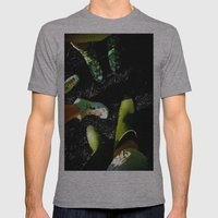 Gummies Mens Fitted Tee Athletic Grey SMALL