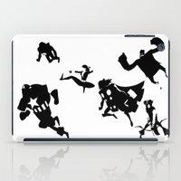 The Avengers Minimal Bla… iPad Case