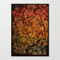 Triangles are for fun. Canvas Print