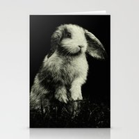 bunny Stationery Cards featuring Bunny by Digital Dreams