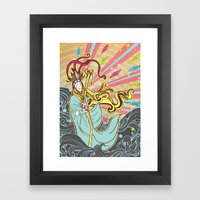 The Healer Framed Art Print
