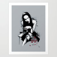 Antichrist Superstar II Art Print
