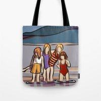 Cousins and the Lake Tote Bag