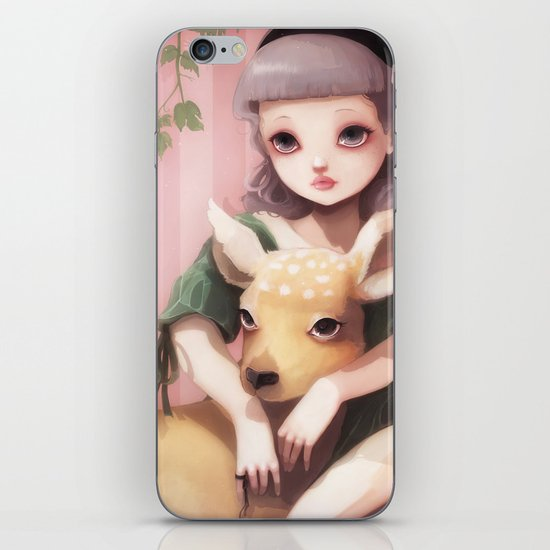 My dear lady deer... iPhone & iPod Skin
