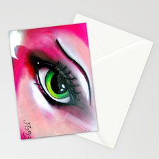 A Warm Woman Stationery Cards