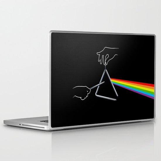 The Dark Side of the Tune Laptop & iPad Skin